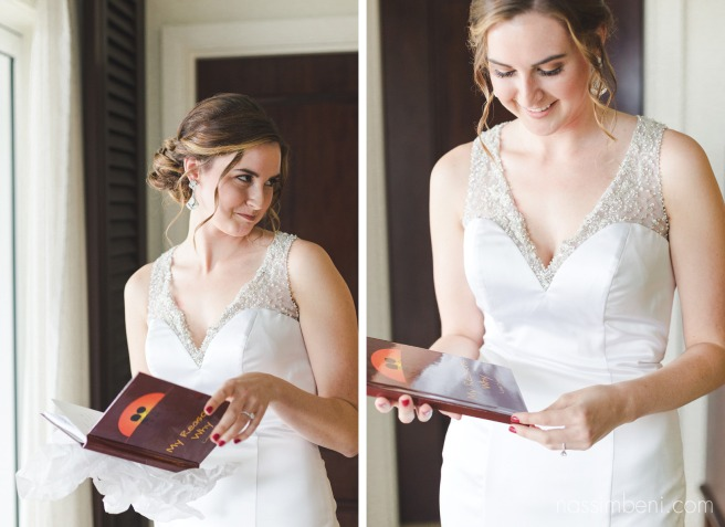 My reasons why book gift to bride from groom at vero beach hotel and spa Nassimbeni Photography