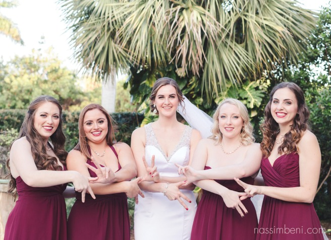 kappa bridesmaids at heathcote botanical gardens by Nassimbeni Photography