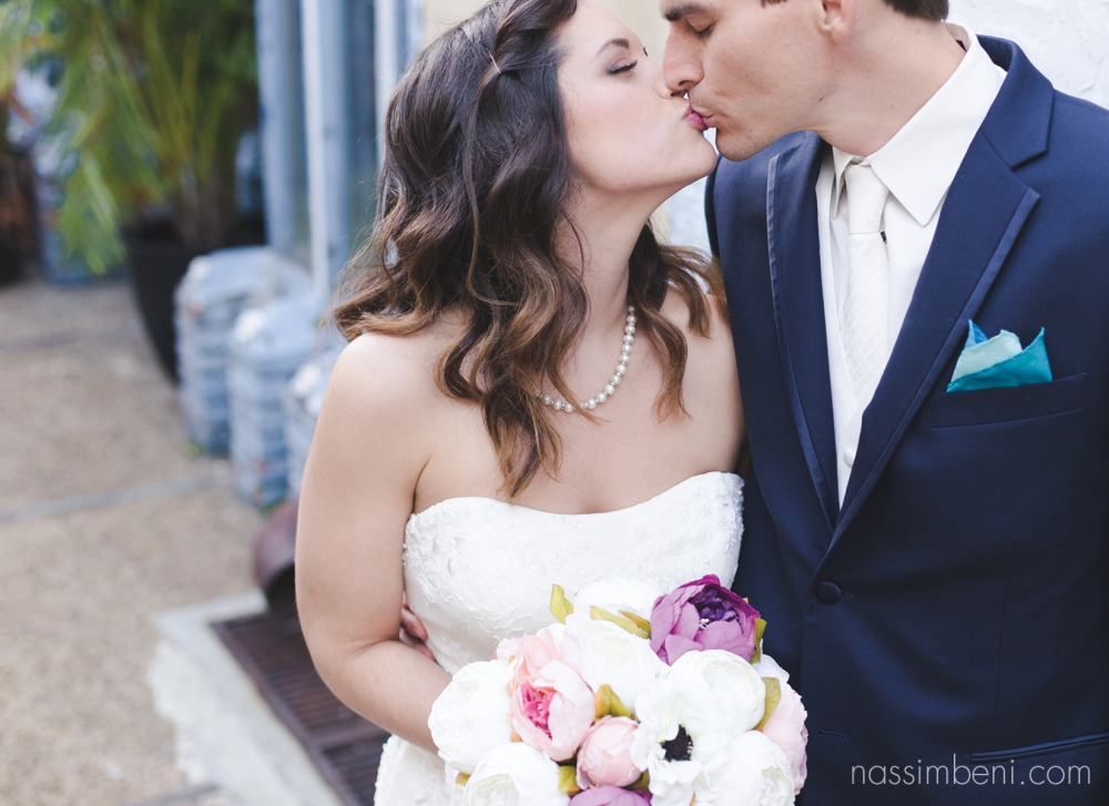 sweetest two at intimate wedding in fort lauderdale by Nassimbeni Photography