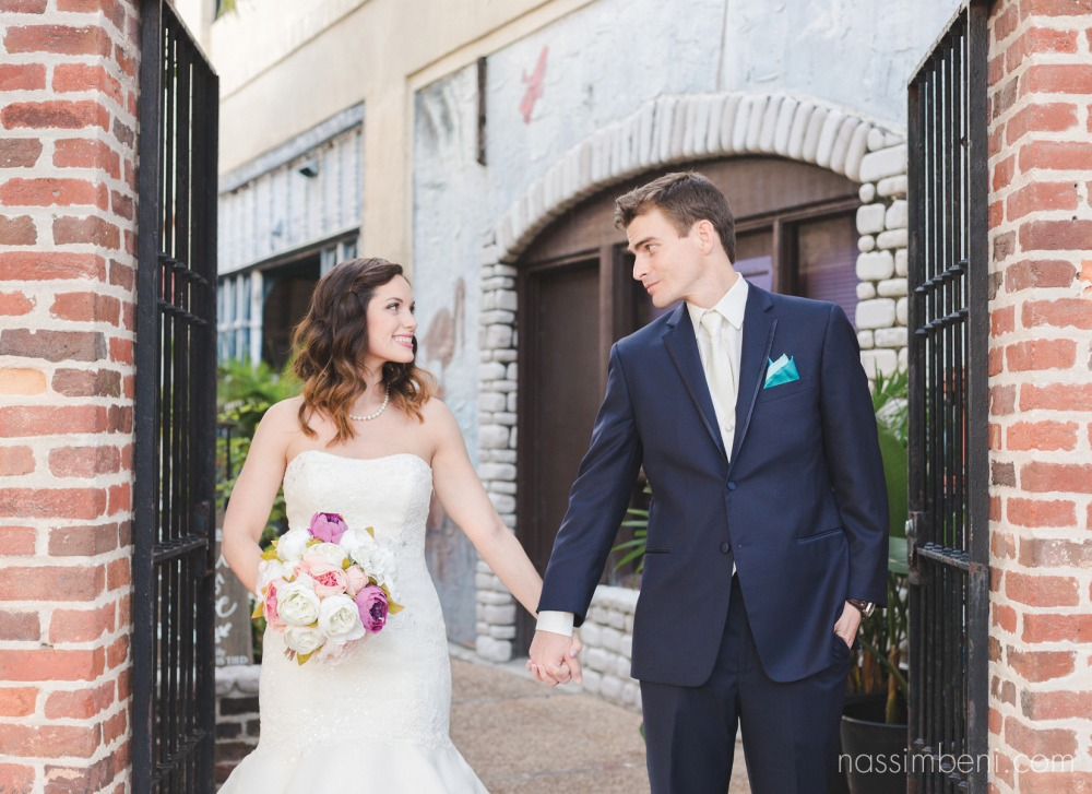 Intimate florida wedding by vero beach wedding photographer Nassimbeni Photography