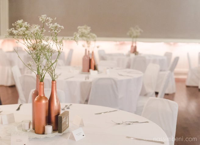 maw ell room simple decor for intimate wedding by Nassimbeni Photography