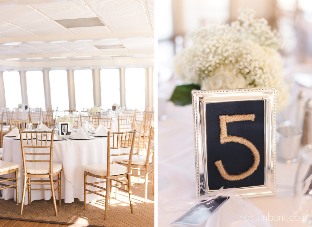 Catalina yacht wedding decorations from sun dream yacht charters by nassimbeni photography