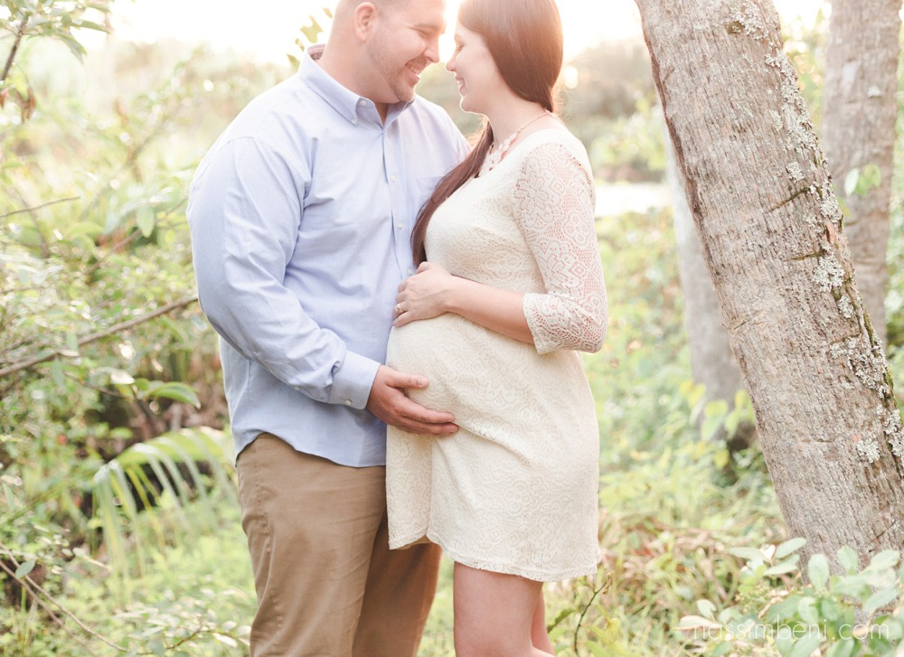 Ft pierce maternity photographer at white city park by nassimbeni photography