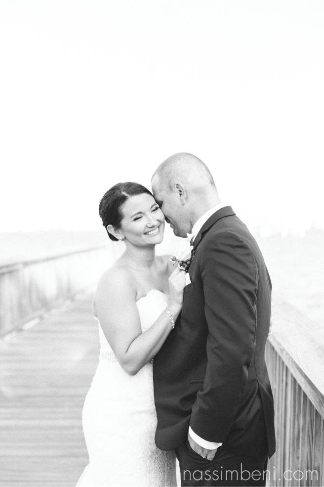 elegant black and white bride and groom at indian riverside park by vero beach wedding photographer nassimbeni photography