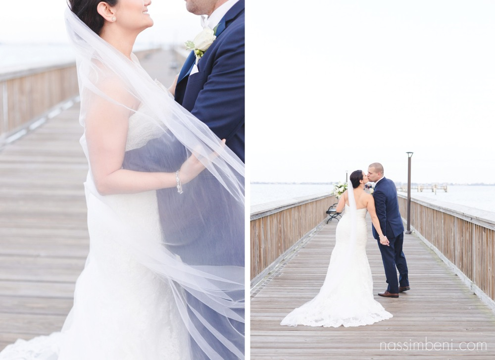 elegant chapel veil at indian riverside park by vero beach wedding photographer nassimbeni photography
