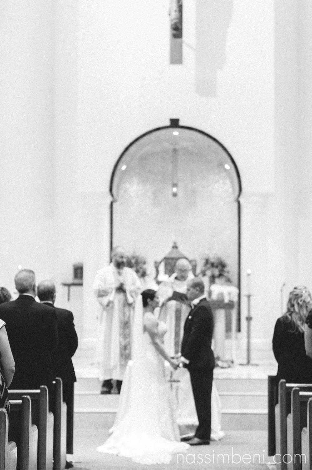 elegant holy family catholic church wedding by port st lucie wedding photographer nassimbeni photography