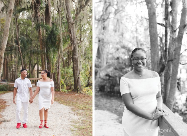 kraft azalea gardens engagement photos by nassimbeni photography