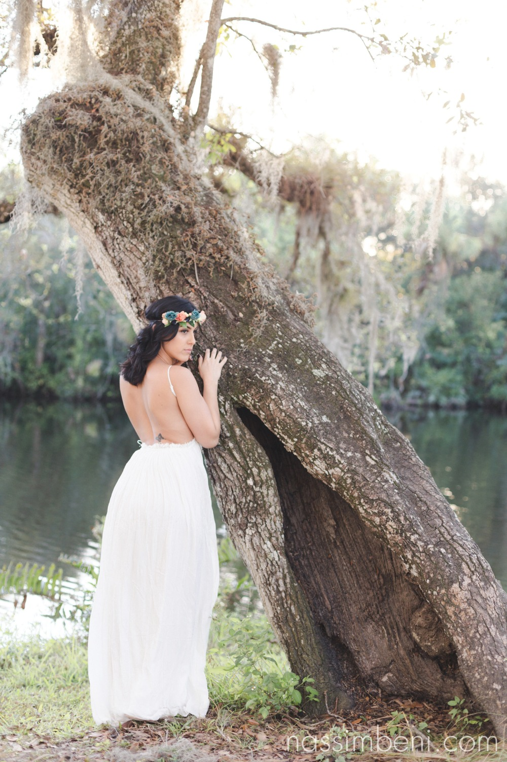 fierce engagement photos at white city park by port st lucie wedding photographer nassimbeni photography