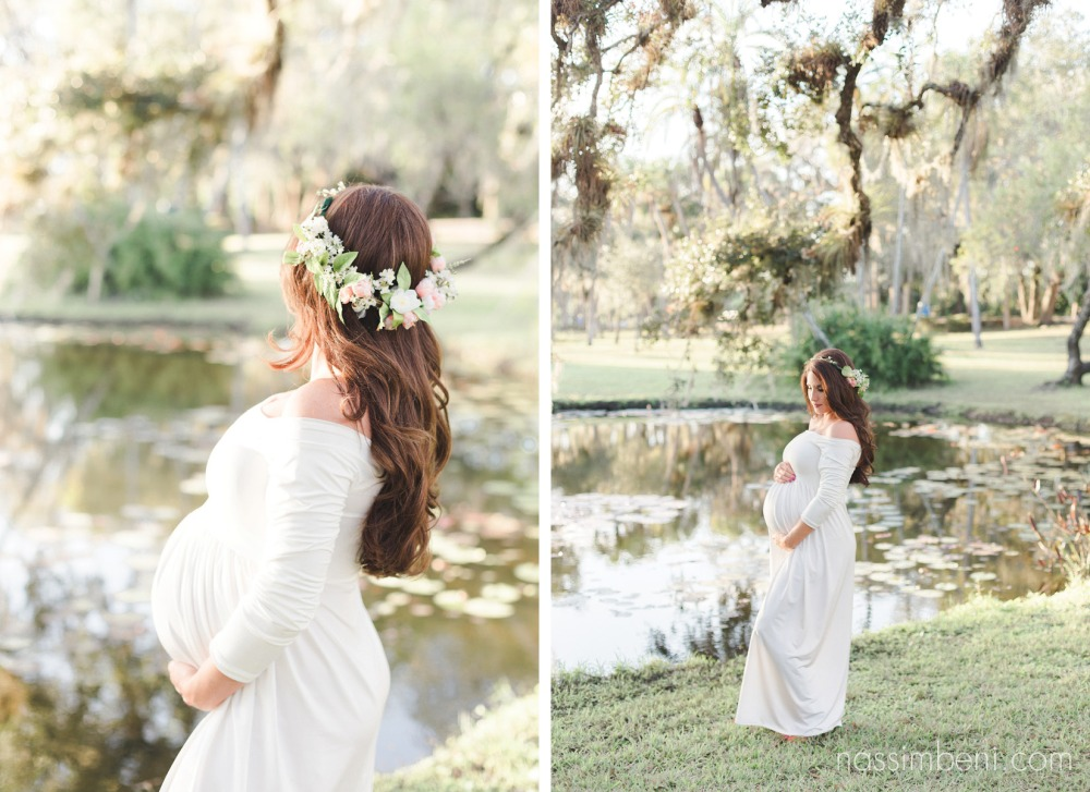 whimsical maternity photos at white city park by port st lucie maternity photographer nassimbeni photography