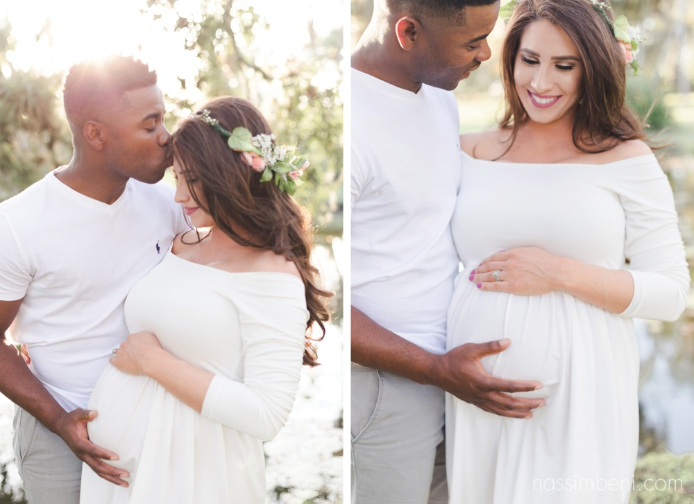 whimsical maternity photos at white city park by port st lucie photographer nassimbeni photography