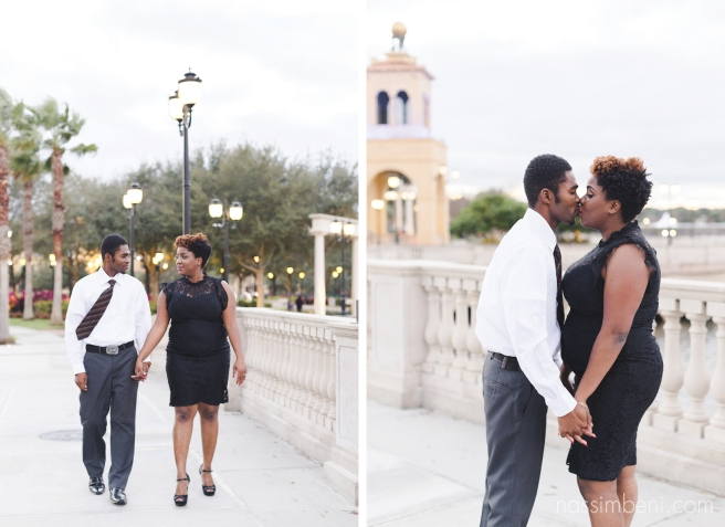 cranes roost engagement session