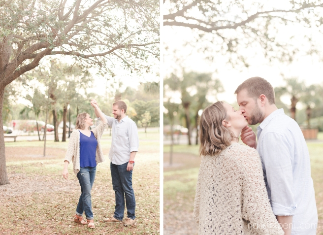 Gleason Park engagement photos