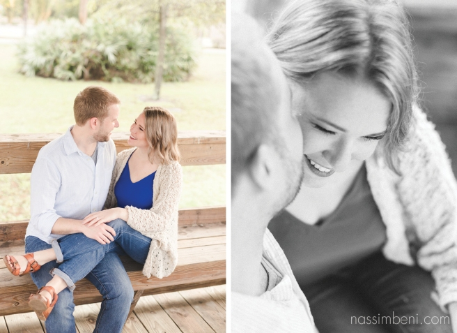 Gleason Park engagement photos by port st lucie photographer nassimbeni photography