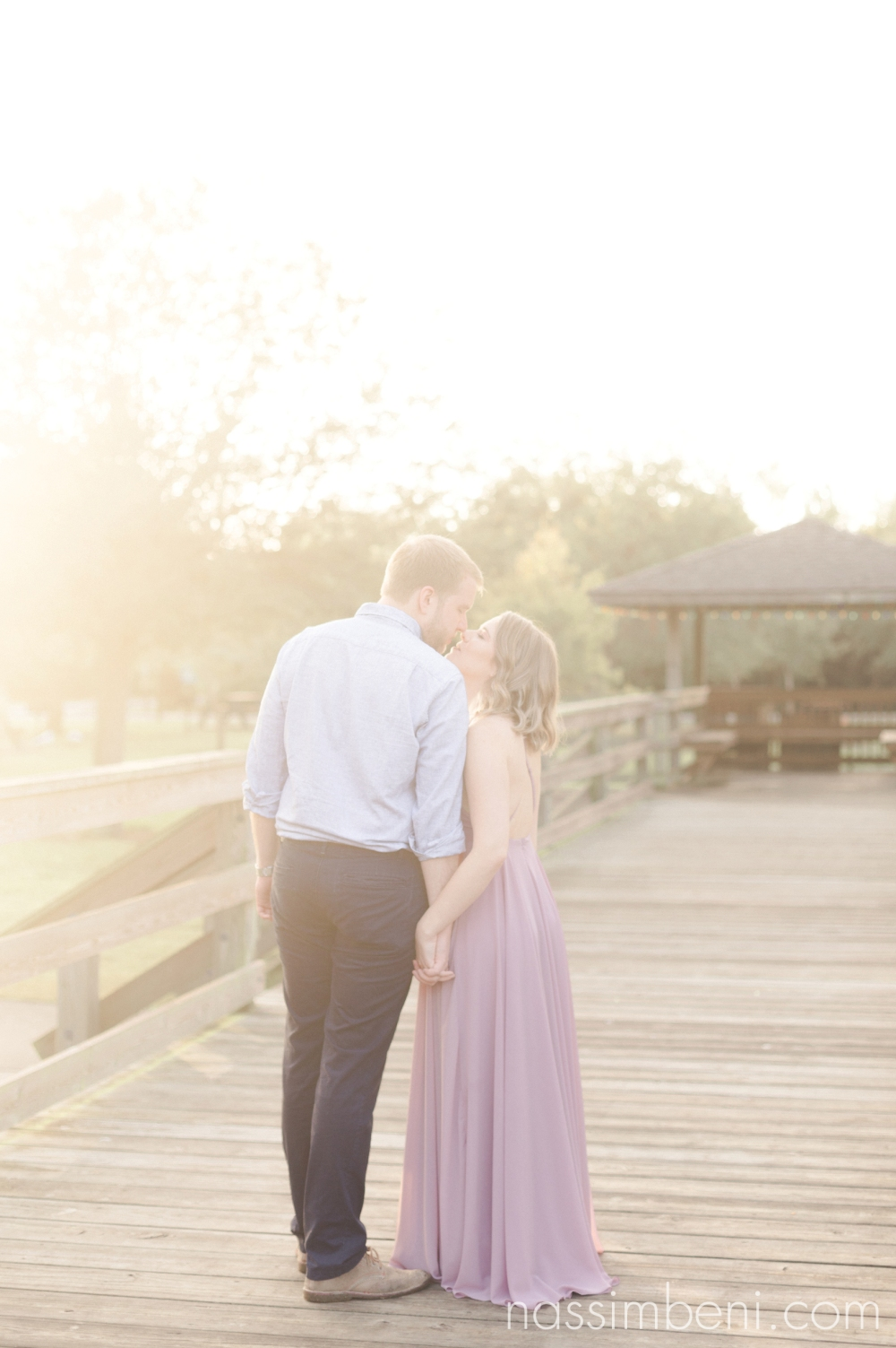 Gleason Park sunrise engagement photos by port st lucie wedding photographer nassimbeni photography