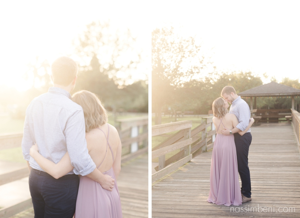 sunrise session at Gleason Park by port st lucie wedding photographer nassimbeni photography