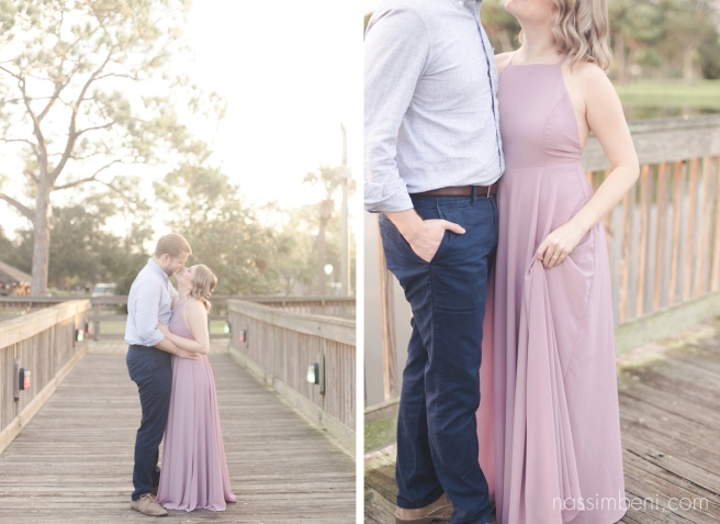 Gleason Park engagement photos at sunrise by port st lucie wedding photographer nassimbeni photography