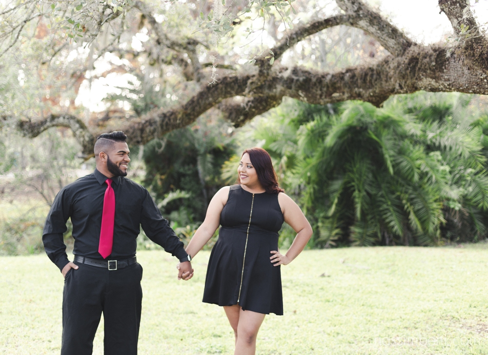 white city park engagement photos by port st lucie wedding photographer nassimbeni photography