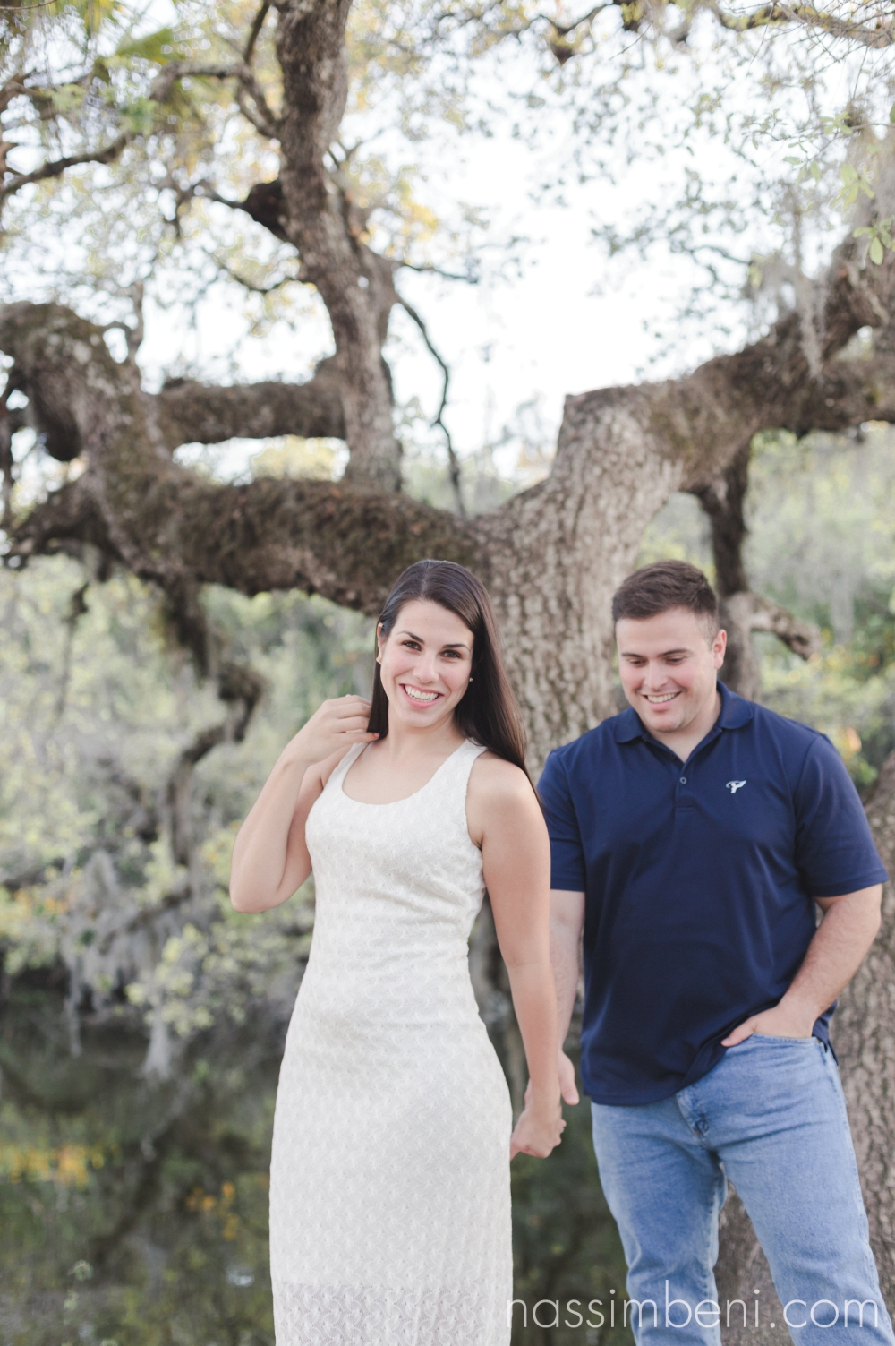 White City Park Engagement Photos in fort pierce florida by Vero beach wedding photographer Nassimbeni Photography
