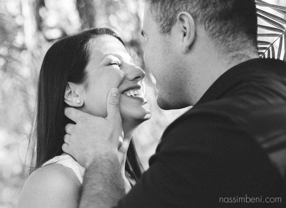 black and white Nassimbeni Photography image of laughing couple