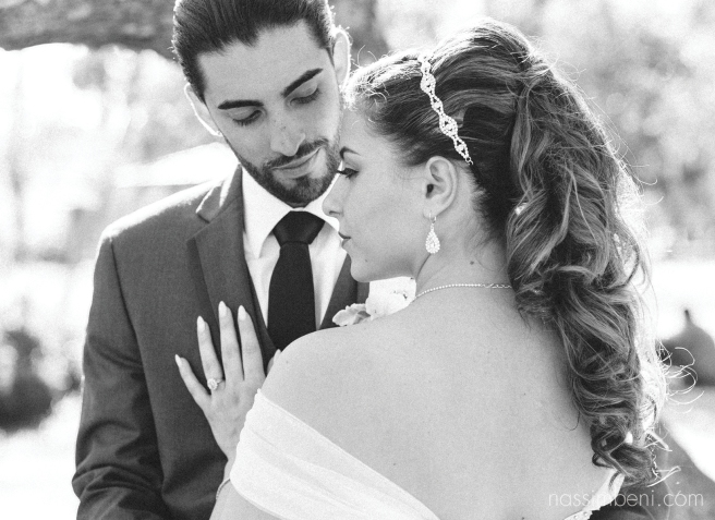 intense bride and groom black and white at white city park in ft pierce by port st lucie wedding photographer nassimbeni photography