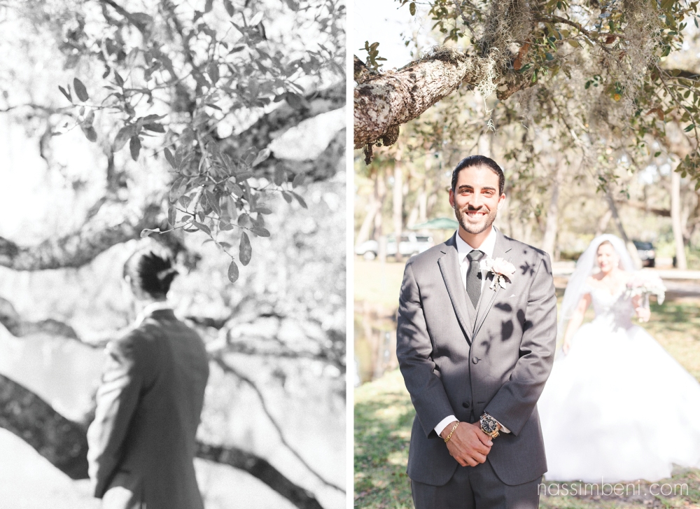 white city park first look for wedding photographer Nassimbeni Photography