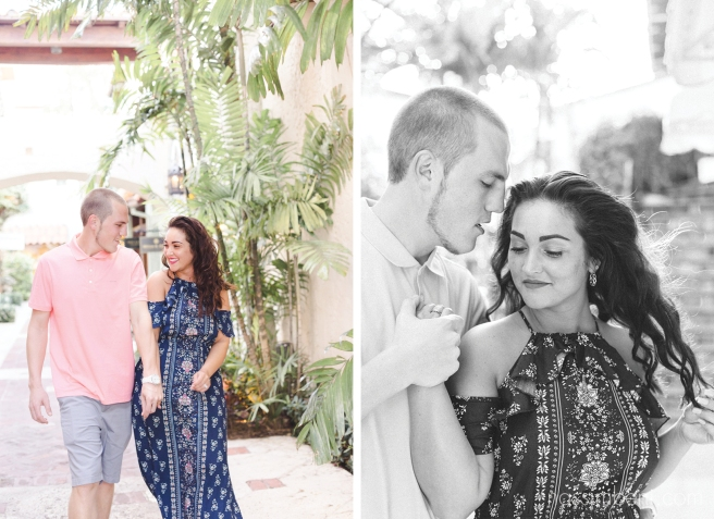 tropical Engagement session by port st lucie photographer nassimbeni photography