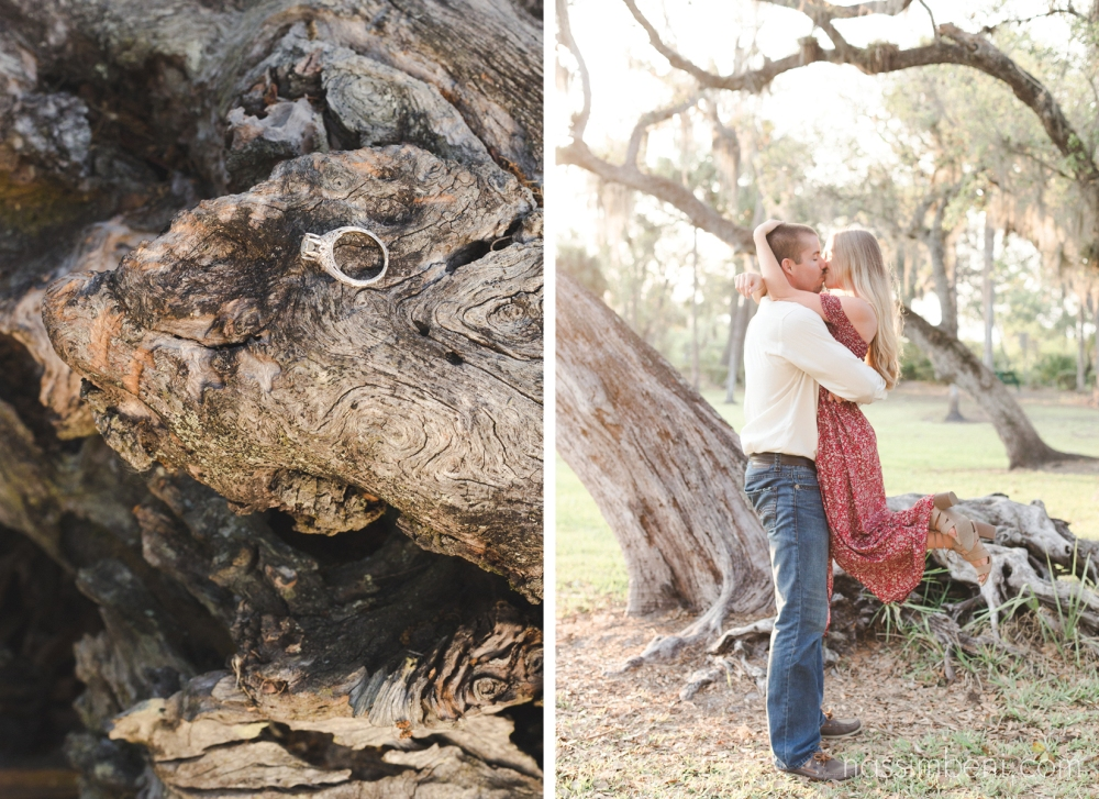 white city park southern style engagement shoot by nassimbeni photography