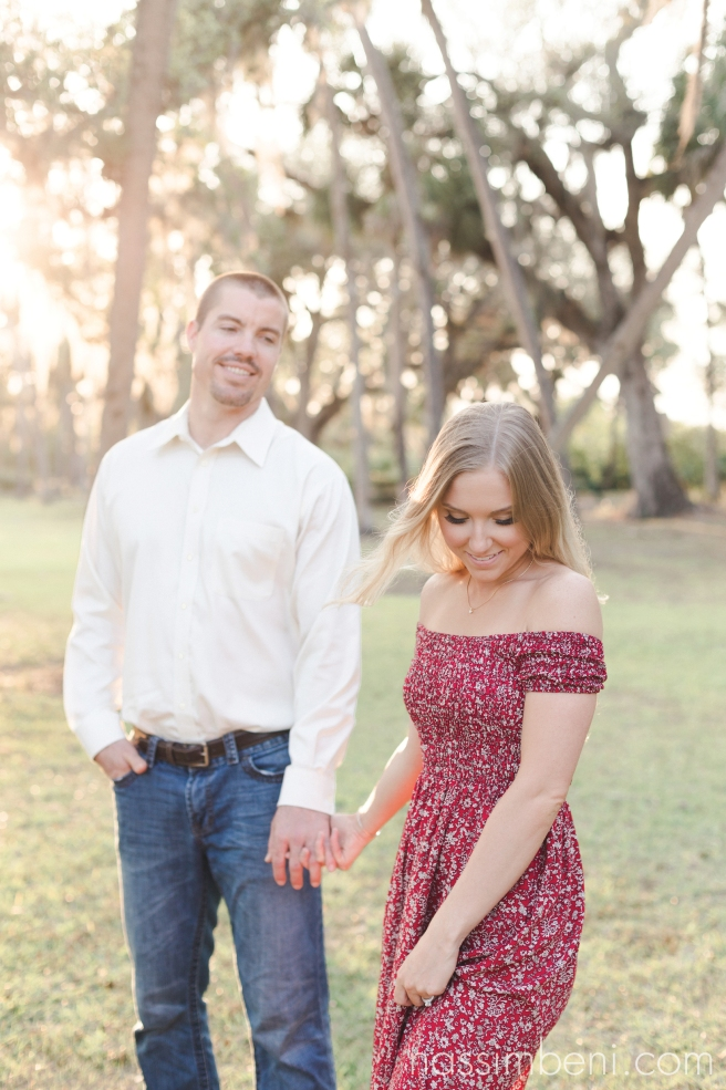 southern engagement shoot at white city park in fort pierce by treasure coast photographer nassimbeni photography