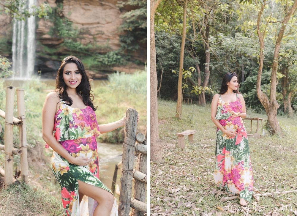maternity session at brazilian waterfall by nassimbeni photography