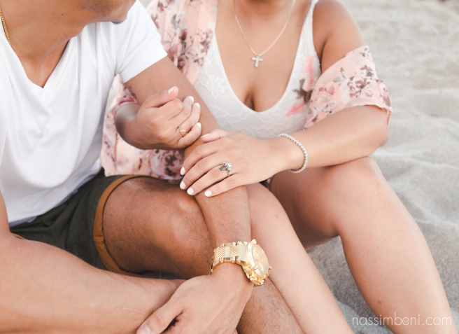 casual outfit oceanside engagement - nassimbeni photography of Florida