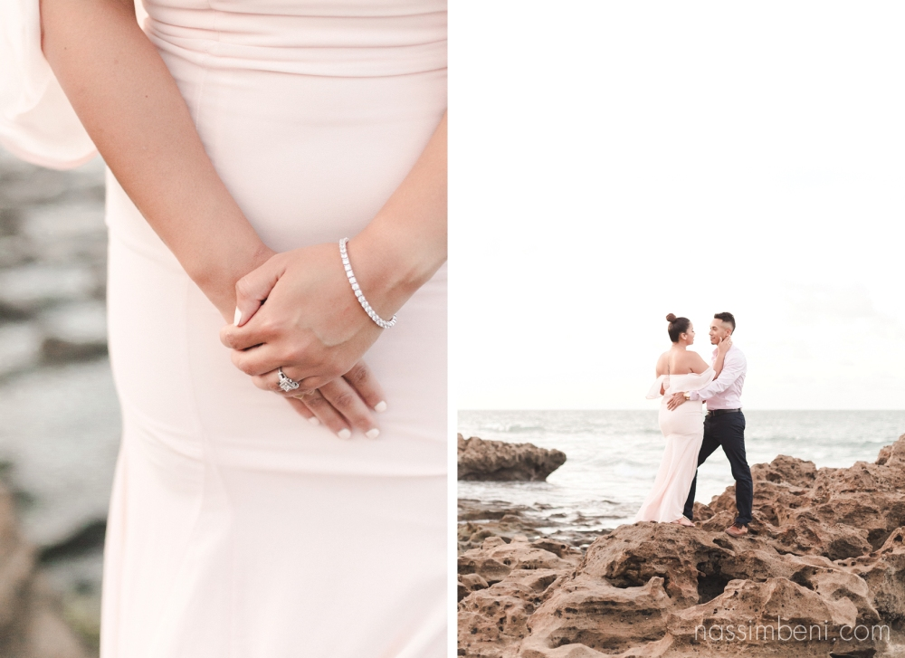 Coral Cove Park - Tequesta, Florida Engagement photos