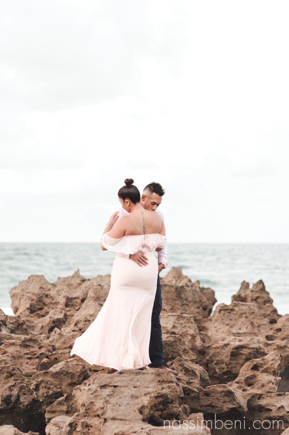 Oceanside elegant engagement photos - Nassimbeni Photography