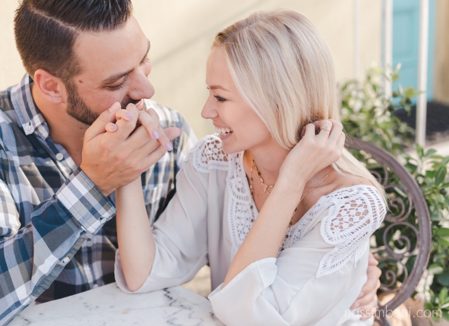 casual small town engagement session - nassimbeni photography