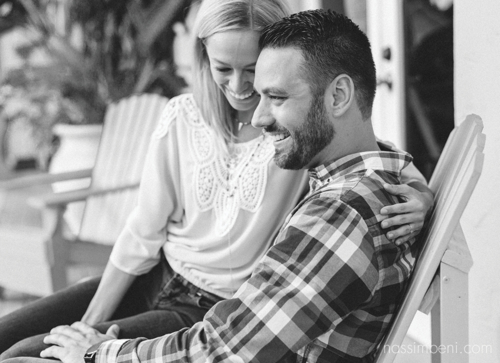 engagement session at the colorado inn downtown stuart florida - nassimbeni photography