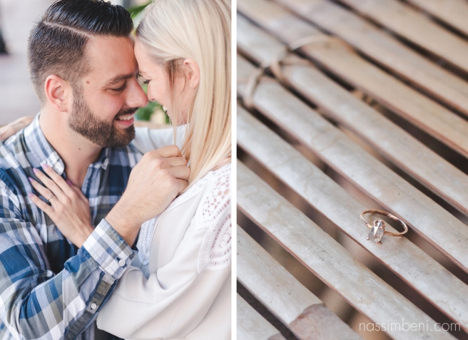 rough cute engagement ring for stuart engagement session - nassimbeni photography