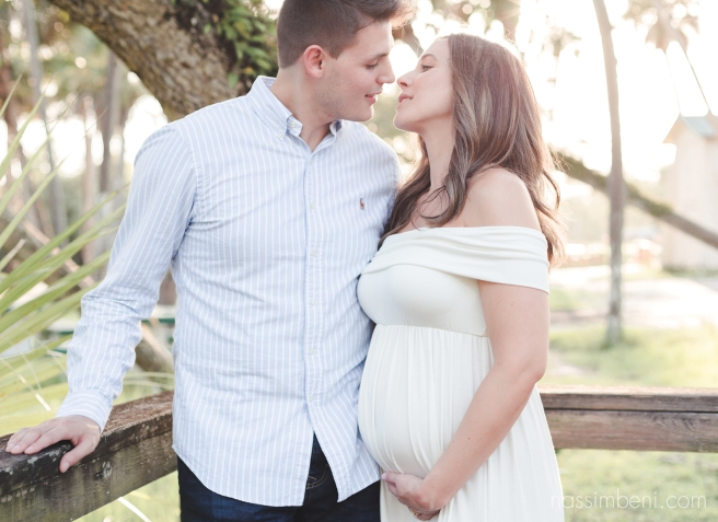 Fort Pierce maternity session - white city park - nassimbeni photography