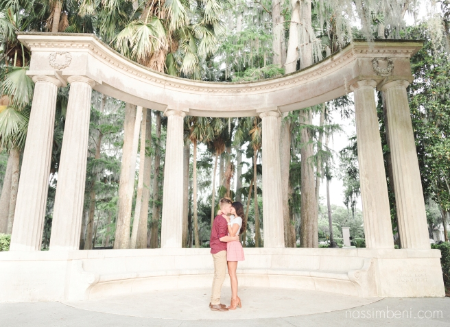 Kraft Azalea gardens - choosing the right engagement session location