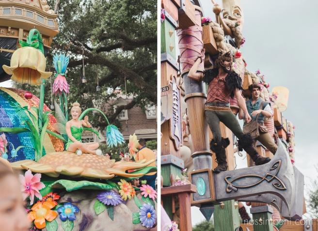 Disney's afternoon parade