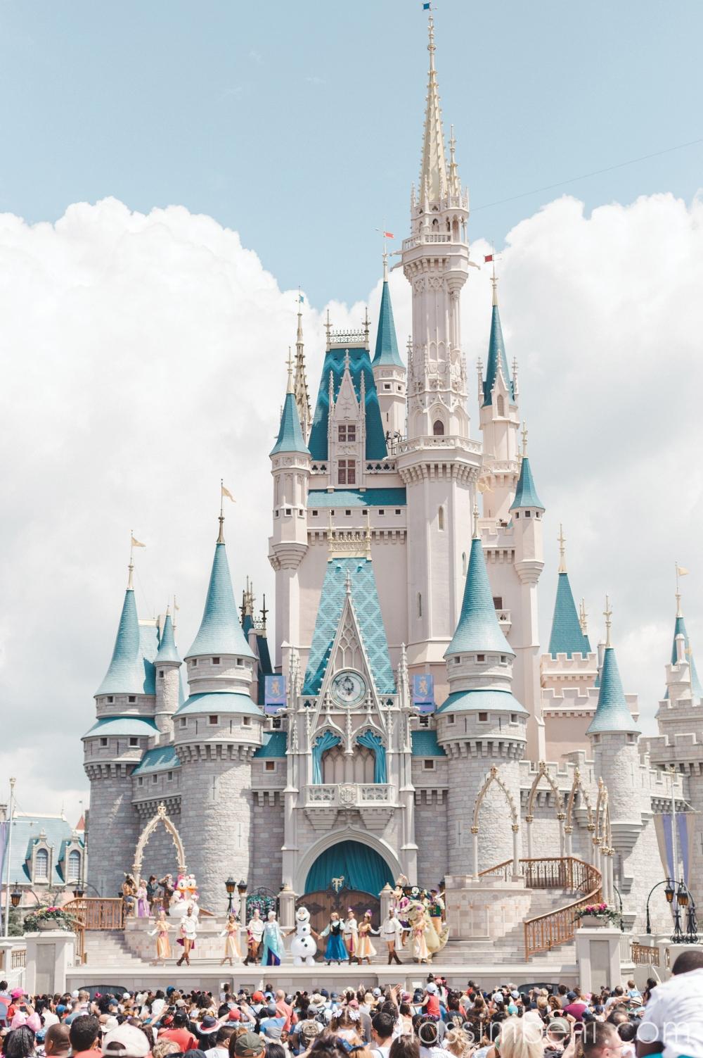 Disney World Orlando cinderella castle