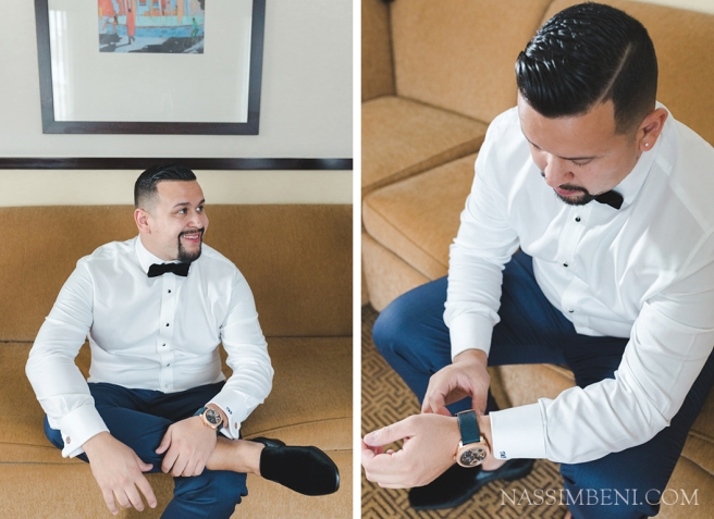groom prep - velvet loafers