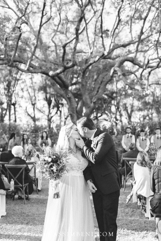 large oak wedding ceremony - nassimbeni photography