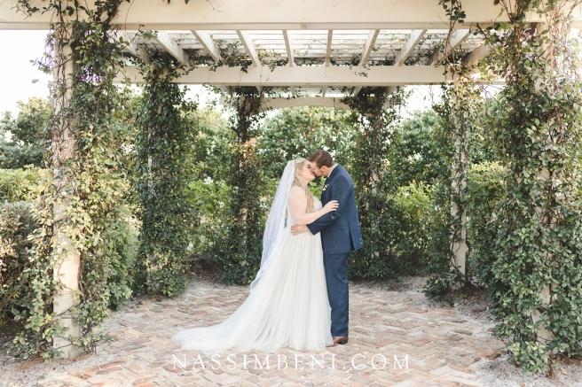 wedding pergola at bellewood plantation