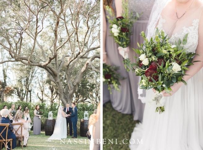 vero beach wedding ceremony at bellewood plantation