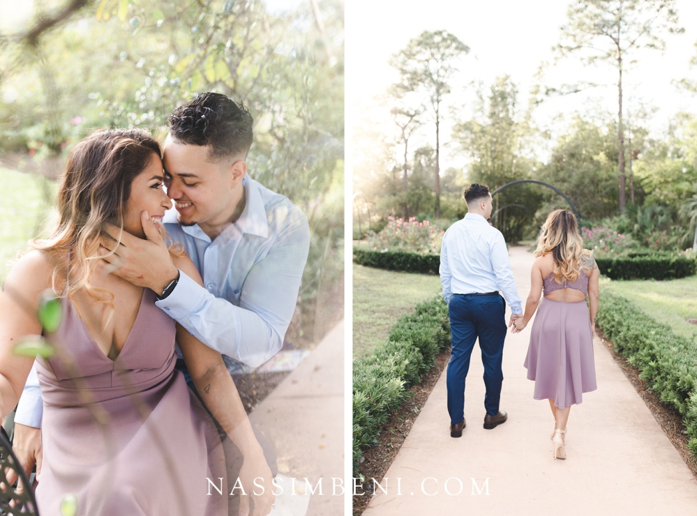 Port St Lucie Botanical Garden Engagement Session - Nassimbeni photo & films