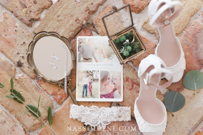 gold and lace wedding details - nassimbeni photo and films
