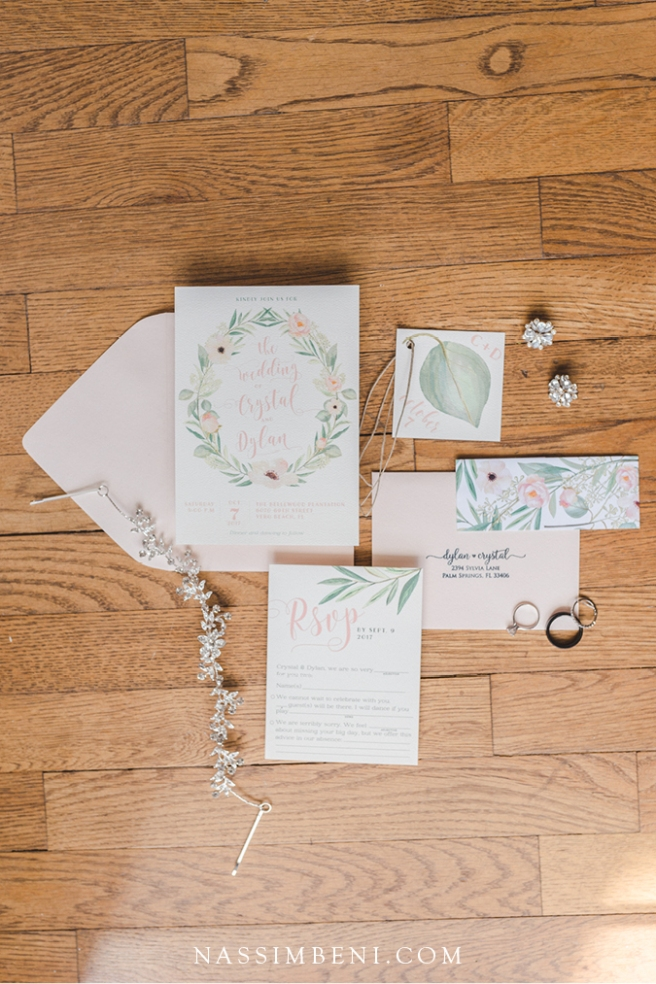 southern charm wedding invitations
