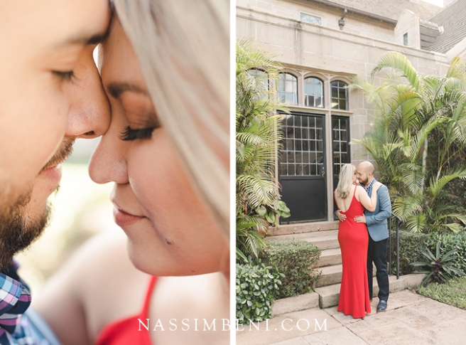 Engagement photos at Church of Bethesda by the Sea by Nassimbeni Photo & Films