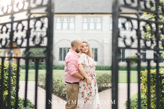 Engagement photos at Bethesda by the Sea in Palm Beach Florida Taken by Nassimbeni Photo & Films
