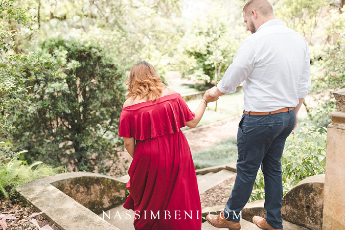 Bok Tower engagement photos - Nassimbeni Photo & Films