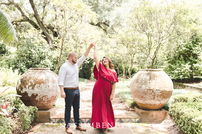 Bok Tower Engagement Photos